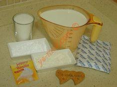 Krem Şantili Muhallebi İçin Gerekli Malzemeler Liquid Measuring Cup, Measuring Cups, Smoothie Recipes, Kitchen, Cuisine, Home Kitchens, Kitchens, Cucina