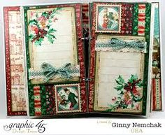 Image result for images of graphic 45christmas carol scrapbook layouts