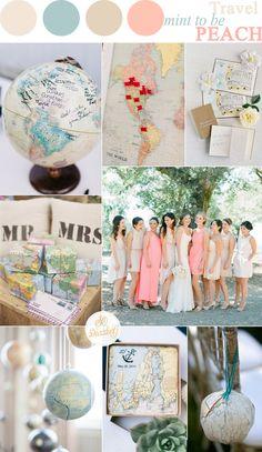 travel themed wedding ideas | sodazzling.com