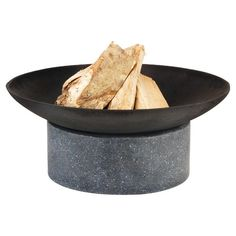 "Cast Iron Fire Bowl on Granito Ring Base | Target | 23""x 23""x 9.1"""