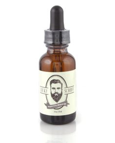 Peppermint Beard Oil - 1 Oz Glass Bottle with Dropper >>> Read more at the image link. #hairnourishing