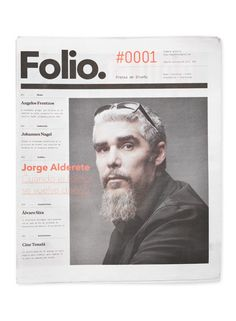 Folio in Editorial Layouts: Cover