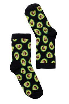 Polly sock avocado