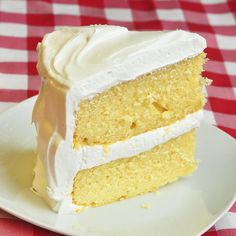 The Best Vanilla Cake - the recipe every baker searches for; a moist, tender, buttery, homemade vanilla cake that's very deserving of its position on our TOP TEN celebration cakes list.