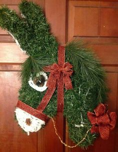 Another donkey wreath