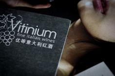 Client: Vitinium. Creation of corporate brand image.  #wine #china #hongkong #shanghai #italianwines #barolo #franciacorta #chianti #brunello #lambrusco #hk