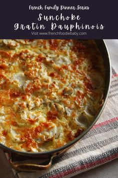 Sunchoke gratin dauphinois Food Dishes, Side Dishes, Baby Blog, Pretty Words, Roasted Chicken, 4 Ingredients, The Dish, Learning To Let Go, Gratin
