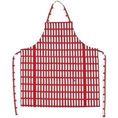 Artek Apron with pattern designed by Finnish architect Alvar Aalto.
