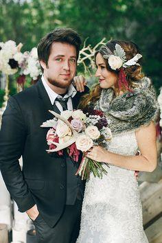 American Idol winner Lee Dewyze and his movie start wife, Jonna Walsh.