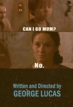 How Star Wars should have ended 😂 Star Wars Trivia, Star Wars Witze, Star Wars Jokes, Star Wars Facts, Star Wars Memes Clean, Prequel Memes, Hilarious, Stupid Funny Memes, Star War 3