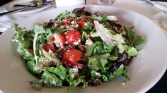 The Mista Verde Salad as an appetizer, or to accompany any meal, is a sweet, savory offering for the table at Tonino.