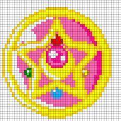 melt bead five point star design - Google Search