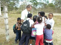 This week's #ThrowbackThursday pic... students giving Young Living Founder and CEO D. Gary Young a hug in 2007.