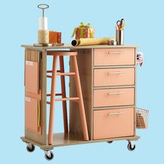 1000 images about craft hobby room on pinterest craft for Rolling craft storage cart