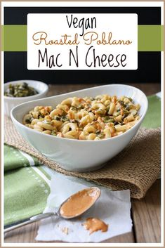 cheese with spicy mac and cheese poblano and caramelized onion roasted ...