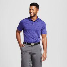Men's Spacedye Golf Polo Shirt - C9 Champion Violet (Purple) S