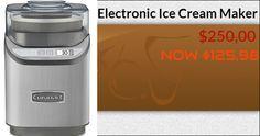 Electronics Online, Consumer Electronics, Ice Cream Maker, Ice Cream Making Machine, Electronics