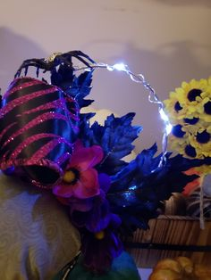 Items similar to Disney Haunted manision inspired Light up ears. Be ready when the lights go out with the light up ears. on Etsy Disney Halloween Ears, Disney Ears, Light Highlights, Dark Flowers, Glue Crafts, Mouse Ears, Fairy Lights, Flower Crown, Light Up