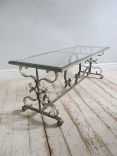 18 best wrought iron coffee tables and side tables images iron rh pinterest com