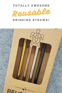 One straw for every handbag! These would amazing on the bar at an event as well, so into the rainbow of colours
