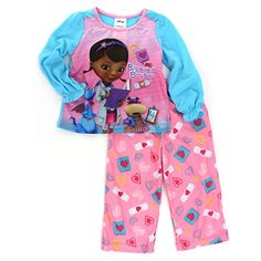 0acac3c9a7 Doc Mcstuffins Toddler Pink Pajamas (2T) American Marketing Enterprises INC  http