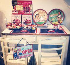 my Vintage Shabby kitchen corner