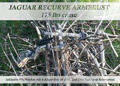 In unserem Shop findet Ihr alle weiteren Daten zu dieser Jaguar Recurve Armbrust! Wer sie noch am Wochenende schießen will, kann auch gern morgen direkt bei uns im Store vorbei schauen und sie sich direkt ansehen und kaufen!
