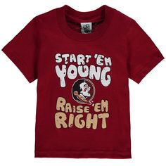 Florida State Seminoles Infant Start 'Em Young T-Shirt - Garnet
