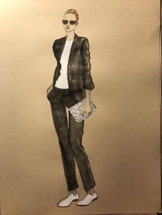 Painting & Drawing, Artworks, Punk, Drawings, Illustration, Collection, Style, Fashion, Swag