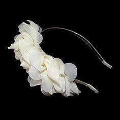 Lace With Rhinestone Wedding Bridal Headband – USD $ 9.99