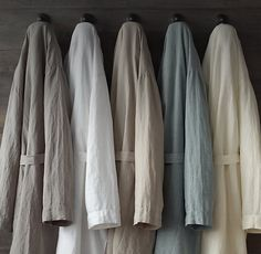 RH's Stonewashed Belgian Linen Robe:FREE SHIPPING ON ORDERS OVER $50Our pure linen robe is created from the finest Belgian flax, stonewashed to enhance its natural softness and tumble dried for a relaxed look and feel. Supple, breathable and comfortable in all seasons, it drapes lightly and becomes even more beautiful with time and use.