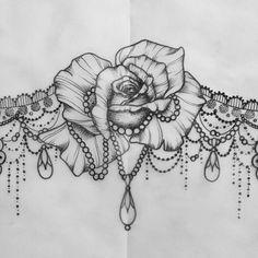 underboob tattoo idea
