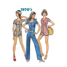 1970's Simplicity 9981 Teen Junior Petite by patternmemories