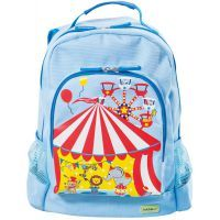 Bobble Art Circus Canvas Backpack www.mamadoo.com.au #mamadoo #bags #kidsbackpacks