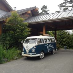 Can I have this van, please? Vw Bus, Volkswagen, Tofino Bc, Rubber Soul, Surf Style, Whale Watching, Vancouver Island, Sandy Beaches, Places Around The World