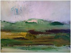 Although abstract in form, my paintings are landscapes – they capture the essence and emotional significance of a place and / or time. Irish Landscape, Contemporary Landscape, Abstract Landscape, Journey's End, Irish Art, Abstract Painters, Mixed Media Canvas, 15 Years, Turning