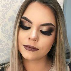 maquiagem de festa formatura ou madrinha de casamento