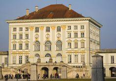 Nymphenburg, München, Bajorország, Németország - www.castlesandmanorhouses.com