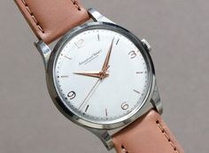 International Watch Co. (IWC) Cal.89 1950'S #vintagewatch #vintageiwc #horology #horolin