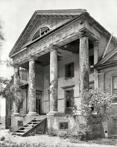 LOST OLD SOUTH GOODE MANSION Plantation BUILT IN 1821