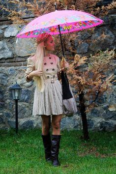Piristä sateista päivää ihanalla varjolla!
