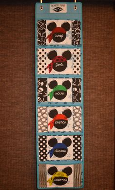 Disney Cruise Line Here we come!!  Fish Extender with 6 pockets!  Perfect for a bigger family.