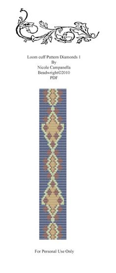Beadwright: BEAD LOOM PATTERNS