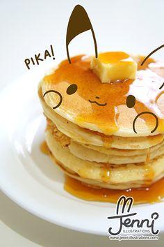 All 151 pokemon pancakes recipes