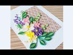 DIY Paper Quilling Flower For beginner Learning video 29 // Paper Quilli. Quilling Work, Paper Quilling Jewelry, Paper Quilling Designs, Quilling Paper Craft, Quilling Patterns, Quilling Ideas, Flower Birthday Cards, Birthday Card Design, Flower Cards