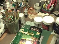 Supplies I use most often while Art Journaling.