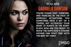 Which 'Chicago Fire' Character Are You?  i got Gabriela Dawson :)