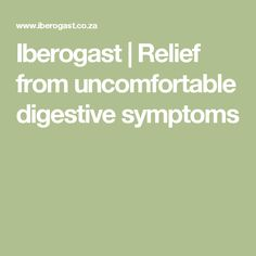 Iberogast   Relief from uncomfortable digestive symptoms