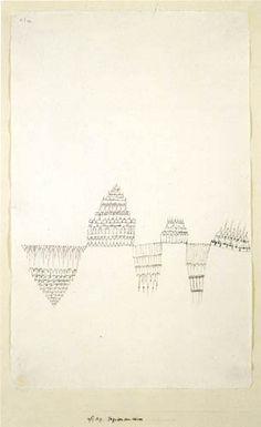 Paul Klee - Pagoden am Wasser 1927