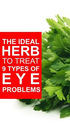 The ideal herb to treat 9 Types Of Eye Problems